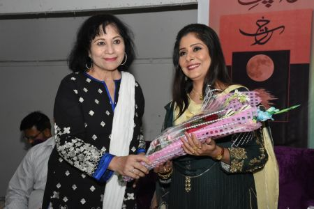 Launching Of Poetry Collection \'Rakht\' At Arts Council Karachi  (15)
