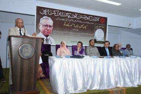 Launching Of The Book \'Yoon Nahi Yoon\' By S M Moin Qureshi At Arts Council Karachi (4)