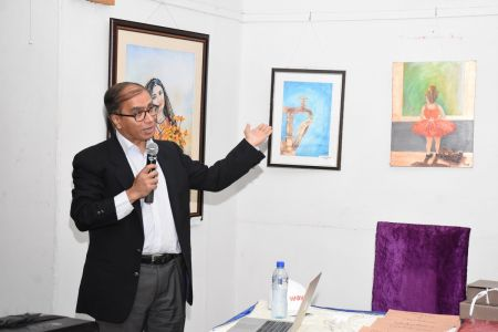 Lecture And Presentation On Wilson Disease By Professor Aftab Ala At Arts Council Karachi (8)