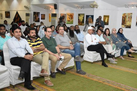 Lecture And Presentation On Wilson Disease By Professor Aftab Ala At Arts Council Karachi (9)