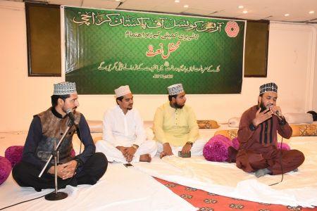 Mehfil Naat At Arts Council Of Pakistan Karachi (16)