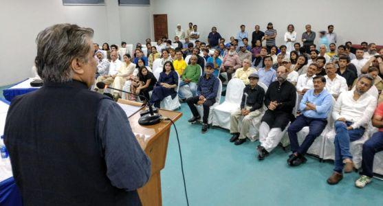 Memorial Reference For Artist Jamil Naqsh At Arts Council Karachi (1)