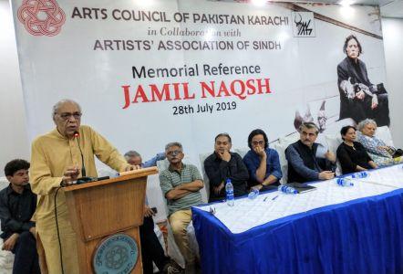 Memorial Reference For Artist Jamil Naqsh At Arts Council Karachi (3)
