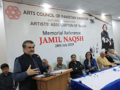 Memorial Reference For Artist Jamil Naqsh At Arts Council Karachi (8)