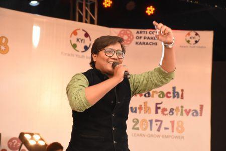 Mr. Atiq Sawan Performance In Karachi Youth Festival 2017-18 (8)