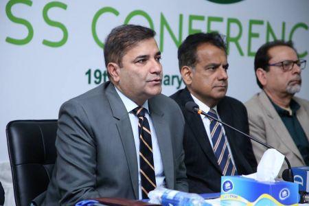 Municipal Commissioner Karachi Dr. Saif-ur-Rehman Addressing To Press Conference About PSL Arrangements