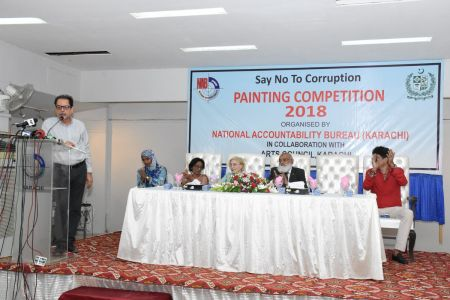 NAB & Arts Council Organized A Painting Competition 2018 At Arts Council Karachi  (10)