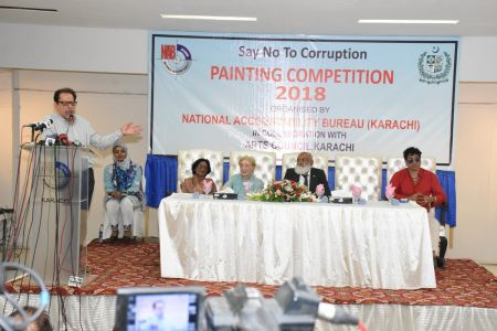NAB & Arts Council Organized A Painting Competition 2018 At Arts Council Karachi  (12)