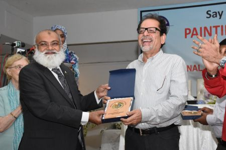NAB & Arts Council Organized A Painting Competition 2018 At Arts Council Karachi  (1)