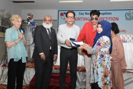 NAB & Arts Council Organized A Painting Competition 2018 At Arts Council Karachi  (21)
