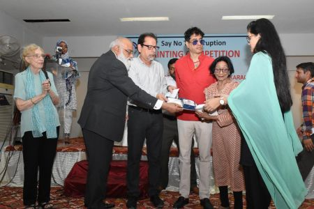 NAB & Arts Council Organized A Painting Competition 2018 At Arts Council Karachi  (22)