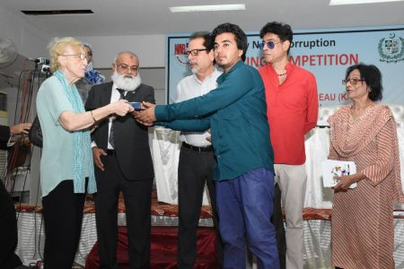 NAB & Arts Council Organized A Painting Competition 2018 At Arts Council Karachi  (25)