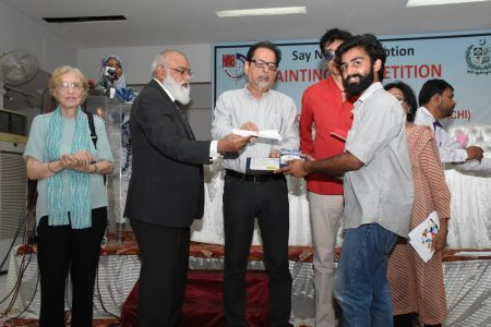 NAB & Arts Council Organized A Painting Competition 2018 At Arts Council Karachi  (26)