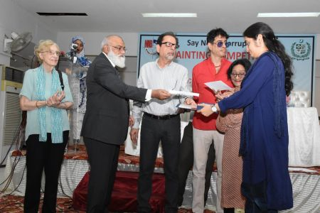 NAB & Arts Council Organized A Painting Competition 2018 At Arts Council Karachi  (31)