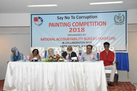 NAB & Arts Council Organized A Painting Competition 2018 At Arts Council Karachi  (8)