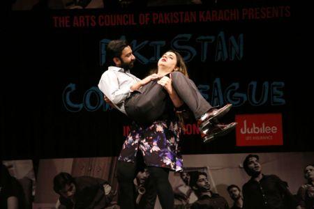 Pakistan Comedy League Live At Arts Council Of Pakistan Karachi (5)