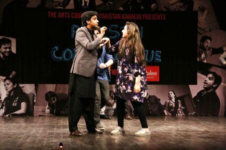 Pakistan Comedy League Live At Arts Council Of Pakistan Karachi (9)