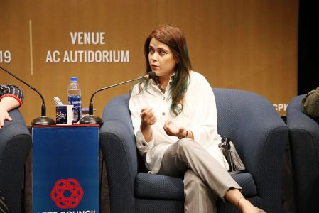 Panel Discussion Between Hollywood & Pakistani Film Makers At Arts Council-6