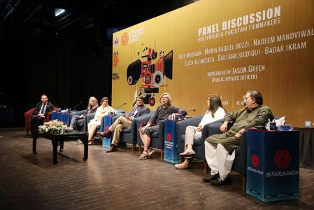 Panel Discussion Between Hollywood & Pakistani Film Makers At Arts Council-8