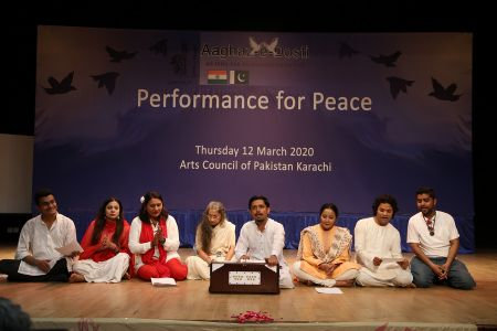 Performance For Peace At Arts Council Karachi (10)