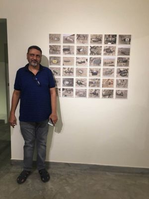 President Arts Council Ahmed Shah Visited Exhibitions At Chaukhandi, Canvas, Koel And Sanat Galleries Karachi. (5)