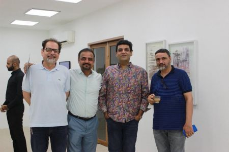 President Arts Council Ahmed Shah Visited Exhibitions At Chaukhandi, Canvas, Koel And Sanat Galleries Karachi