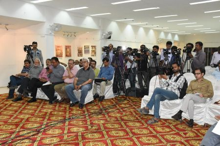 Press Conference About Sadiquain Fake Painting (5)