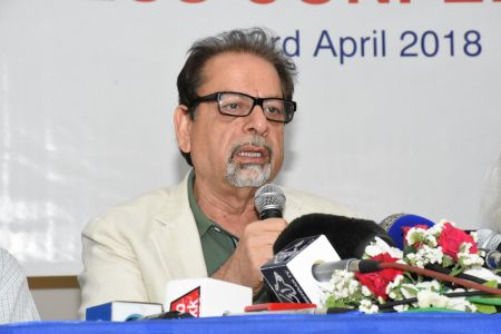 Press Conference About \'Save Shahid Sajjad\'s Art Work\' By Arts Council Of Pakistan Karachi (11)