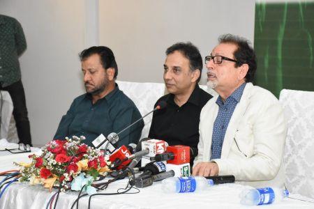 Press Conference Of Kul Pakistan Mushaira  (6)