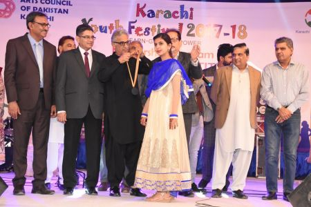 Prize Distribution  District West & South - Karachi Youth Festival ( (10)