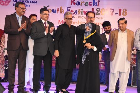 Prize Distribution  District West & South - Karachi Youth Festival ( (11)