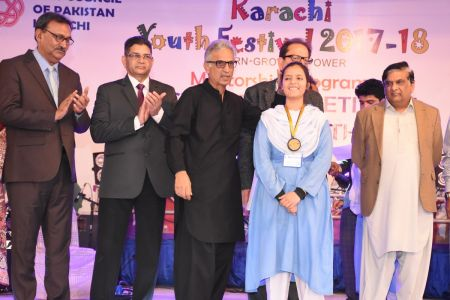 Prize Distribution  District West & South - Karachi Youth Festival ( (14)