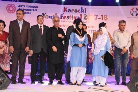 Prize Distribution  District West & South - Karachi Youth Festival ( (15)