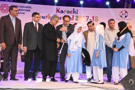 Prize Distribution  District West & South - Karachi Youth Festival ( (16)