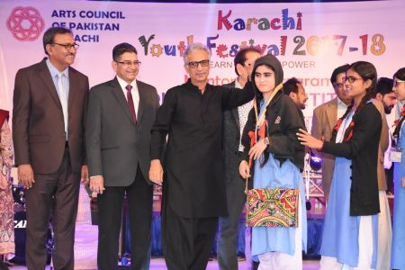 Prize Distribution  District West & South - Karachi Youth Festival ( (17)