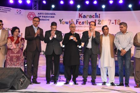 Prize Distribution  District West & South - Karachi Youth Festival ( (19)