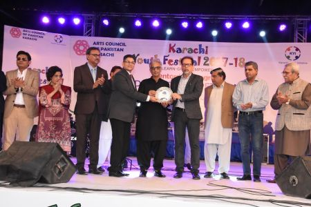 Prize Distribution  District West & South - Karachi Youth Festival (1)