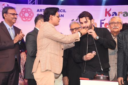 Prize Distribution  District West & South - Karachi Youth Festival ( (22)
