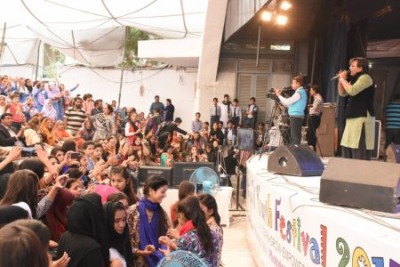 Prize Distribution  District West & South - Karachi Youth Festival ( (3)