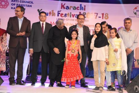 Prize Distribution  District West & South - Karachi Youth Festival ( (5)