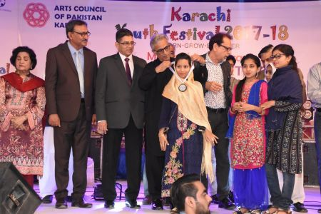 Prize Distribution  District West & South - Karachi Youth Festival ( (6)