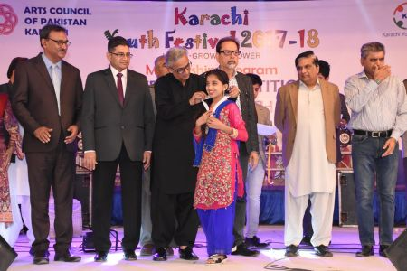 Prize Distribution  District West & South - Karachi Youth Festival ( (7)