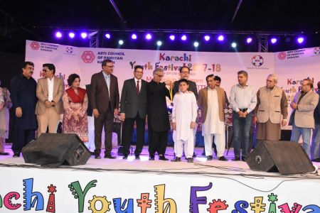 Prize Distribution  District West & South - Karachi Youth Festival ( (8)