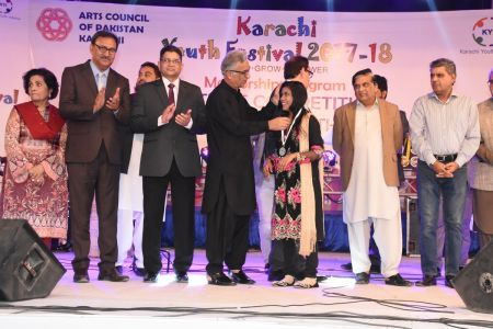 Prize Distribution  District West & South - Karachi Youth Festival ( (9)