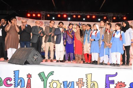 Prize Distribution Of District Central - Karachi Youth Festival 2017-18 At Arts Council Karachi (14)