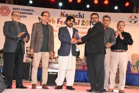 Prize Distribution Of District Central - Karachi Youth Festival 2017-18 At Arts Council Karachi (1)