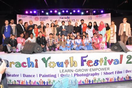 Prize Distribution Of District Central - Karachi Youth Festival 2017-18 At Arts Council Karachi (22)