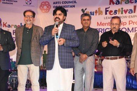 Prize Distribution Of District Central - Karachi Youth Festival 2017-18 At Arts Council Karachi (24)