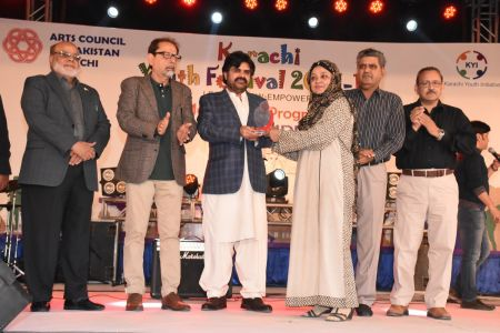 Prize Distribution Of District Central - Karachi Youth Festival 2017-18 At Arts Council Karachi (2)