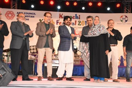 Prize Distribution Of District Central - Karachi Youth Festival 2017-18 At Arts Council Karachi (8)